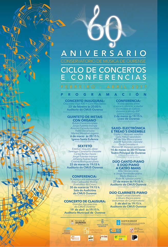 Cartel concierto CMUS